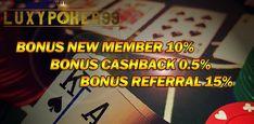 Bergabung di situs poker online indonesia terpercaya 2018 yaitu hanya di luxypoker99 dengan minimal deposit murah sudah dapat main poker online indonesia.