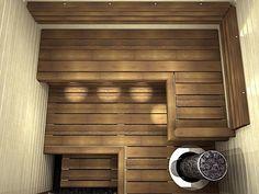 Nagare D laude Saunas, Outdoor Sauna, Outdoor Decor, Building A Sauna, Sauna Design, Bedroom Light Fixtures, Sauna Room, Steam Room, Bathroom Toilets