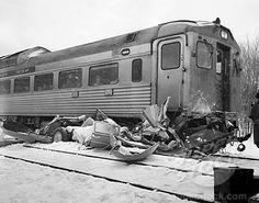 train car accient