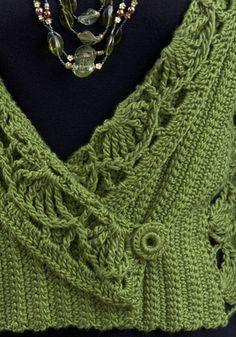 Tokyo Jacket, free crochet pattern by Vashti Braha.