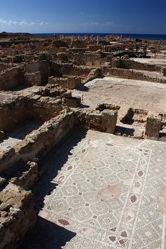 Roman Ruins at Paphos, Cyprus