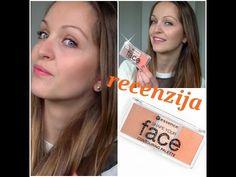 RECENZIJA// ESSENCE SHAPE YOUR FACE PALETE// +LIVE TEST