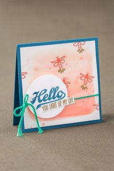 Simple little cards like these are perfect to keep on hand to make anyone's day brighter. Be sure to get your own Jar of Love bundle. #stampinup