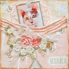 Marilyn Rivera- My Creative Scrapbook- Limited Edition kit featuring Prima