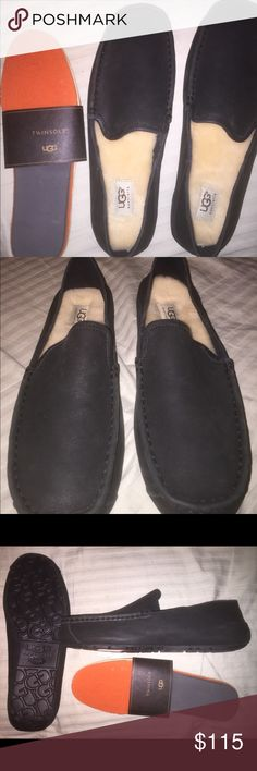 Ugg ascot slippers Never worn. Too small for my husband got for birthday present. Perfect condition. Comes with ugg box. All tags and labels attached. Also comes twin soles to insert. UGG Shoes Loafers & Slip-Ons