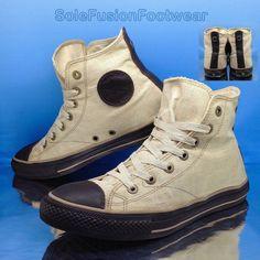 488ef0b9af1b Converse Mens All Star Leather Trainers Brown sz 8 VTG Varvatos Sneakers 10  41.5