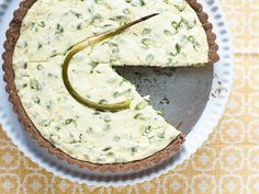 I bought garlic scapes from Whole Foods and had no idea how to cook them. So, I found this savory tart recipe. Hmmm. It tasted like garlic pie. I like garlic, but not that much. Must find another use for scapes!