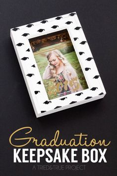 Graduation Announcement Keepsake Box