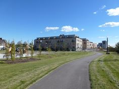 Davenport Village town homes Sidewalk, Homes, Mansions, House Styles, Home Decor, Houses, Decoration Home, Room Decor, Villas