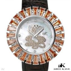Luxstyle4u - ADEE KAYE Brand New Watch With Precious Stones - Genuine Crystals and Mother of pearl, $102.00 (http://www.luxstyle4u.com/adee-kaye-brand-new-watch-with-precious-stones-genuine-crystals-and-mother-of-pearl/)