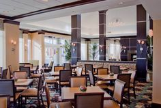 Our lobby is the perfect place to socialize with friends or family.