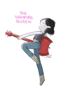 Marceline the Vampire Queen by Knifeson