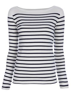 Striped long sleeve top - I have been looking for one of these for months!!
