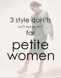 Simple, helpful tips for dressing a petite frame! – Sally McGraw Simple, helpful tips for dressing a petite frame! Simple, helpful tips for dressing a petite frame! Petite Fashion Tips, Fashion For Petite Women, Petite Outfits, Trendy Outfits, Womens Fashion, Fashion Trends, Fall Outfits, Petite Clothes, Petite Dresses