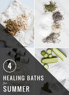 4 Healing Baths For Summer | Henry Happened