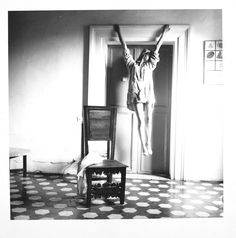 My favourite picture by/of Francesca Woodman.