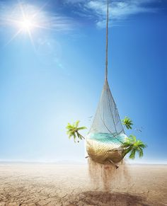 LAN - Caribbean Promotional Ad by Gonzalo Ausejo, via Behance #manipulation #art #design