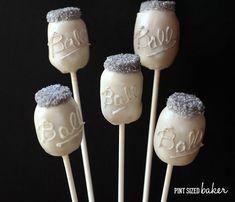 Mason Jar Cake Pops