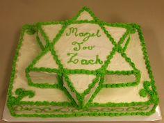 Custom BAR MITZVAH Cake!