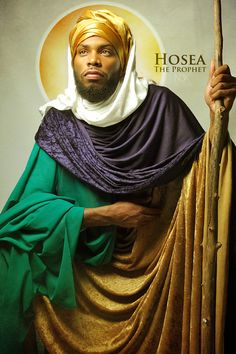 "Hosea ~Noire Icons of the Bible by James C. Lewis, International Photographer ~ ""How might Biblical characters really look? Blacks In The Bible, Black Jesus, African Royalty, By Any Means Necessary, Biblical Art, Black Artwork, My Black Is Beautiful, African History, African Art"