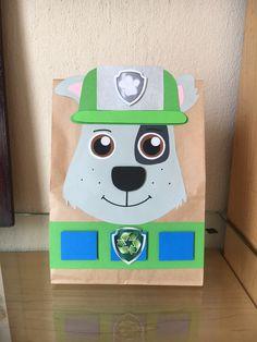 Paw Patrol - Rocky party bags