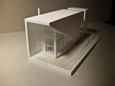 serfozo evelin: Mock-up for Gábor Molnár, architectural model