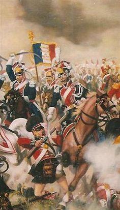 Stanislaw Bodes - Waterloo (detai)