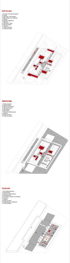 Galería de Los 15 mejores proyectos de fin de carrera diseñados por estudiantes de arquitectura en Argentina - 11 Urban Design, Carrera, Diagram, Architecture, Cards, Architectural Firm, Students, Get Well Soon, Blue Prints