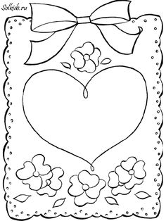 Vintage Valentines, Valentine Day Cards, Kids Art Class, Art For Kids, Piano Crafts, Love Coloring Pages, Candle Art, Applique Templates, Parchment Craft