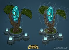 League of Legends Crystal topo