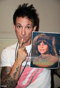 Actor Noah Hathaway on day 1 of The Hollywood Show held at The Westin Hotel LAX on August 1, 2015 in Los Angeles, California.