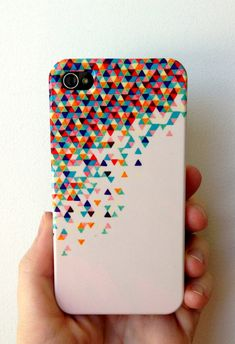 iPhone 4 Case - Funfetti 2: Electric Boogaloo - unique iPhone case, geometric iPhone case, hipster iphone case, iphone 4 case. $33.00, via Etsy.