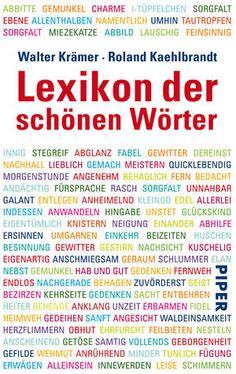 Lexikon der schönen Wörter.  mc
