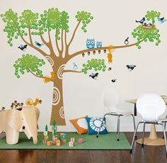 The whimsical wall art products from @popdecors are the perfect addition to a dreamy playroom! #PNpartner