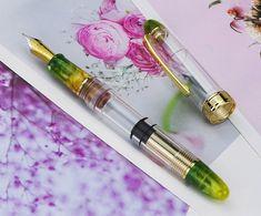 Moonman Vaccum Fountain Pen Füllfederhalter EF//F Nib 0.38mm 0.5mm Ink Pen