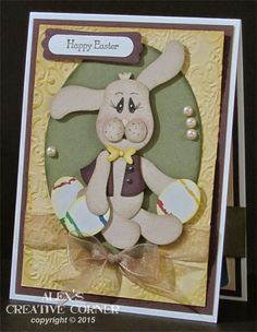 Alex's Creative Corner: Easter Bunny Card