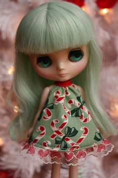 Merry Christmas Middie Blythe Dress
