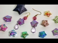 folded paper puffy stars
