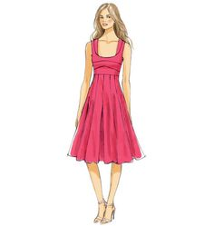 V9001 | Misses' Dress | View All | Vogue Patterns