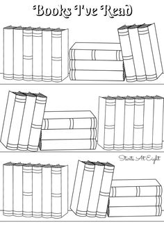 FREE Printable Reading Logs ~ Full size or for your Bullet Jou . - FREE Printable Reading Logs ~ Full Size or Adjustable for Your Bullet Journal – Julia Loucks – - Bullet Journal Books To Read, Bullet Journal Reading Log, Bullet Journal Bookshelf, Bullet Journal Simple, Bullet Journal Printables, Journal Template, Bullet Journal Ideas Pages, Book Journal, Reading Journals