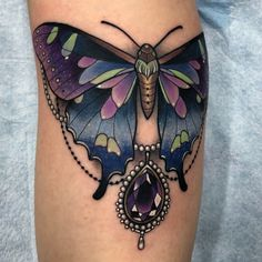 Second butterfly for Mélanie, thanks again!