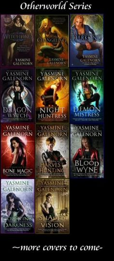 Otherworld & Indigo Court series by Yasmine Galenorn. My favorite author. She is brilliant! Fantasy Books To Read, Best Books To Read, Ya Books, I Love Books, Good Books, Yasmine Galenorn, Books For Teens, Book Fandoms, Book Authors