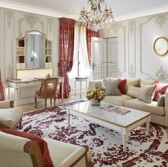 Le Meurice Paris Hotel Room