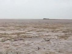 WATCH: Video Shows Water Gone From Bahamas Beaches