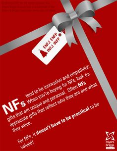 Do you know an ENFJ, ENFP, INFJ or INFP? Use the MBTI assessment to find what gift they'd most value! More at cpp.com/holiday13