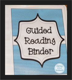 Everything you need to get started with guided reading!  Includes freebies and resources to help you stay organized and teach lessons based on students' needs.