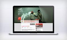 Web para Síndrome Up // Website for Síndrome Up
