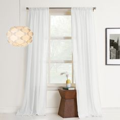 No. 918 Hyannis Single Curtain Panel & Reviews | Wayfair