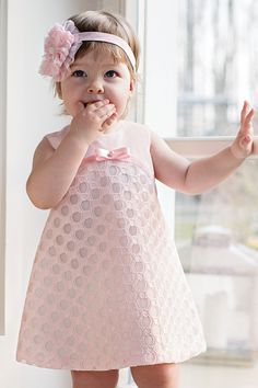 Frocks For Girls, Toddler Girl Dresses, Little Girl Dresses, Girls Dresses, Flower Girl Dresses, Baby Girl Fashion, Kids Fashion, Girl Dress Patterns, Baby Sewing