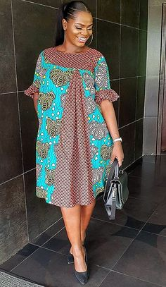 Temmie House Of Fashion: Stylishly Stunning African Fashion For Beautiful W. - Temmie House Of Fashion: Stylishly Stunning African Fashion For Beautiful W… Source by bintajollie - Short African Dresses, African Blouses, Short Gowns, Ankara Short Gown Styles, Latest African Fashion Dresses, African Print Dresses, African Print Fashion, Nigerian Fashion, Ghana Fashion Dresses